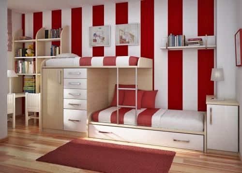Trucos para decorar un dormitorio compartido para niñas