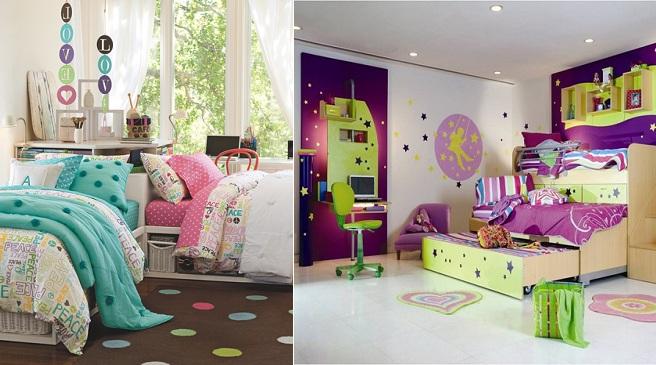 Trucos para decorar un dormitorio compartido por dos.