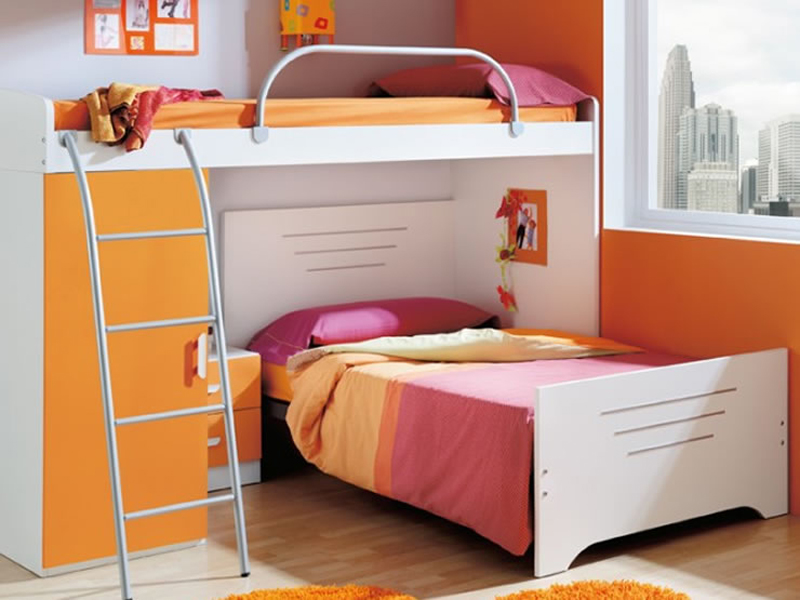 Trucos para decorar un dormitorio compartido por hermanos