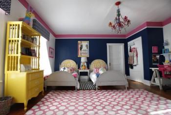Trucos para decorar un dormitorio compartido.